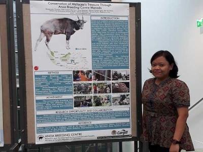 BP2LHK Manado Perkenalkan Anoa Breeding