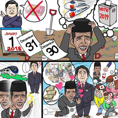 "Lakukan Pose ""Dogeza"", Ilustrator Jepang yang Hina Jokowi Meminta Maaf"