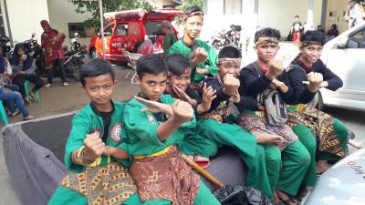 Jumpa Jawara di Gedung Juang 45 Tambun