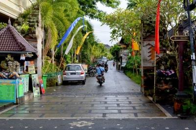 Mengintip Jalan Kanjeng yang Jadi Kampung Seniman di Bali