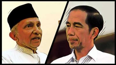 Mengkritisi Ucapan Amien Rais yang Sebut Jokowi Kibuli Rakyat