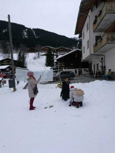 Status Perjalanan (6), Bercengkerama dengan Salju