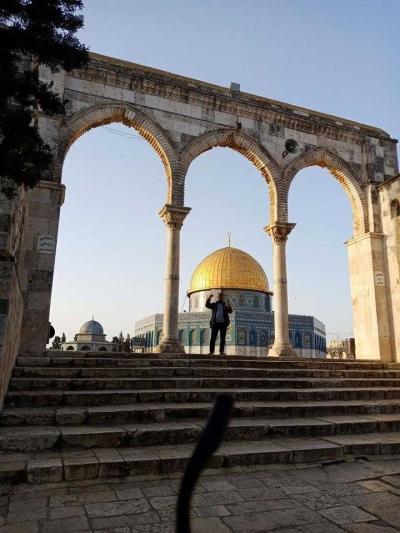 Sejuk dan Damainya Masjid Al-Aqsa
