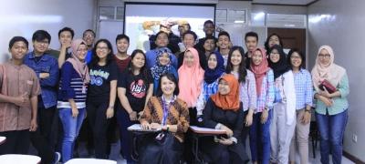 Membahas Masalah Air di Jakarta bersama Prodi PWK