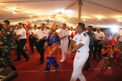 Meriahnya Diplomasi Budaya oleh Kontingen Garuda