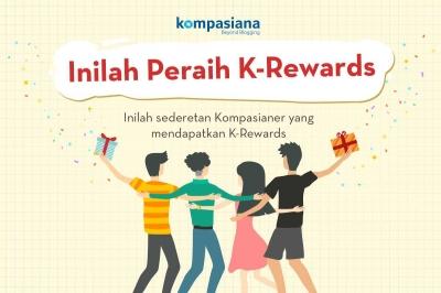Peraih K-Rewards Edisi Agustus Semakin Banyak, Semakin Ramai!