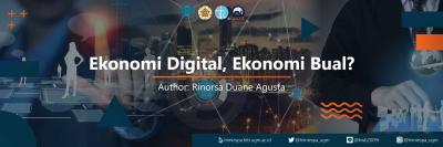 Ekonomi Digital, Ekonomi Bual?