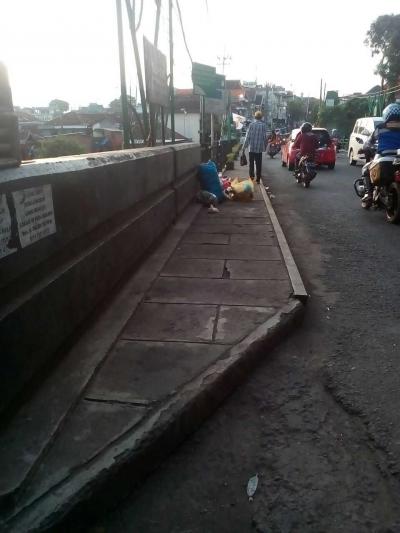 Kebiasaan Buang Sampah Sembarangan di Kota Malang