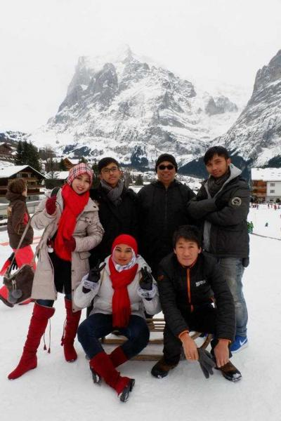 Status Perjalanan (7), Grindelwald
