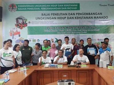 ABC BP2LHK Manado Adakan Pelatihan Konservasi Anoa