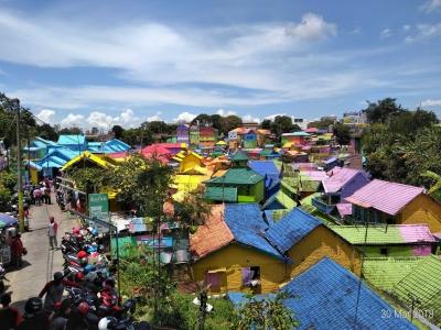 Kampung Wisata Jodipan, Bikin Warga Hidup Mapan