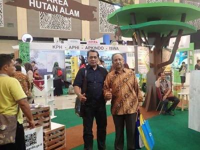 Kiprah BP2LHK Manado dalam Indogreen Forestry Expo 2018