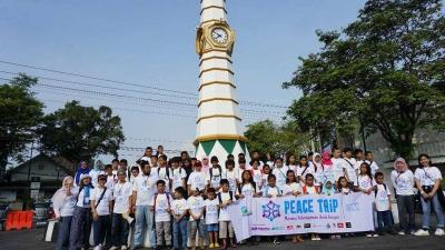 """""""Peace Trip"""", Perjalanan dan Pelajaran Keberagaman untuk Anak-anak di Temanggung"""