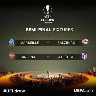 Dua Warna Semifinal Liga Europa 2018