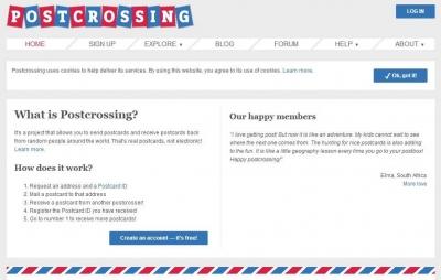 Keliling Dunia bersama Postcrossing
