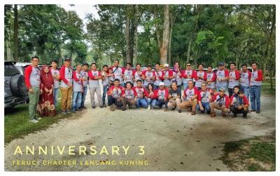 Ulang Tahun Teruci Chapter Lancang Kuning 3 Tahun 2018