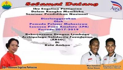 Menyongsong Hardiknas, PELASIWA Gelar Seminar Nasional tentang Upaya Pembangunan Karakter Bangsa