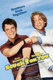 Resensi Film Stuck On You (2003)