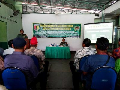 Kodim 0815 Selenggarakan Pembinaan Jaring Teritorial