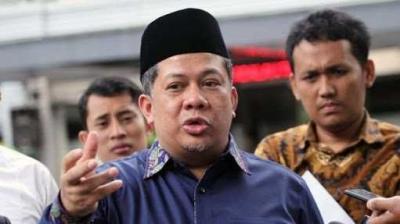 Fachri Berdoa Gedung Nusantara I DPR Ambruk Menimpa Penghuninya