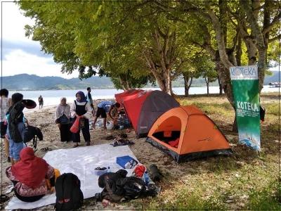 Kotekasiana di Mataram Peteng 2018 dan BIAP Beraksi