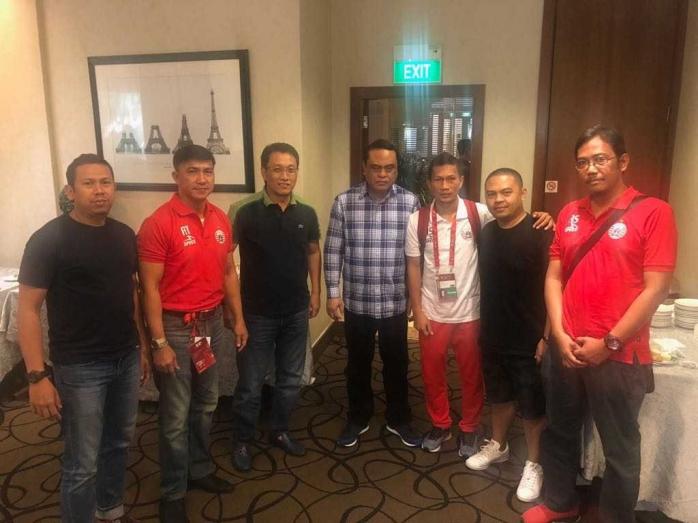 Wakapolri Dampingi Persija Jakarta Pada Laga Melawan Tampines Rovers di Singapura