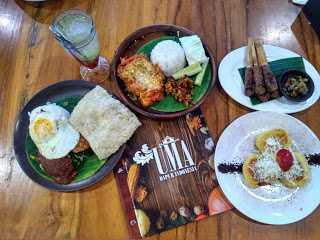 Uma Dapur Indonesia, Masakan