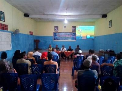 Babinsa Dampingi Musyawarah Desa untuk Pelaksanaan Program Padat Karya Tunai