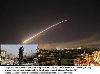 Dengan Alasan yang Dibuat-buat, AS dan Barat Menghujani Suriah dengan Rudal