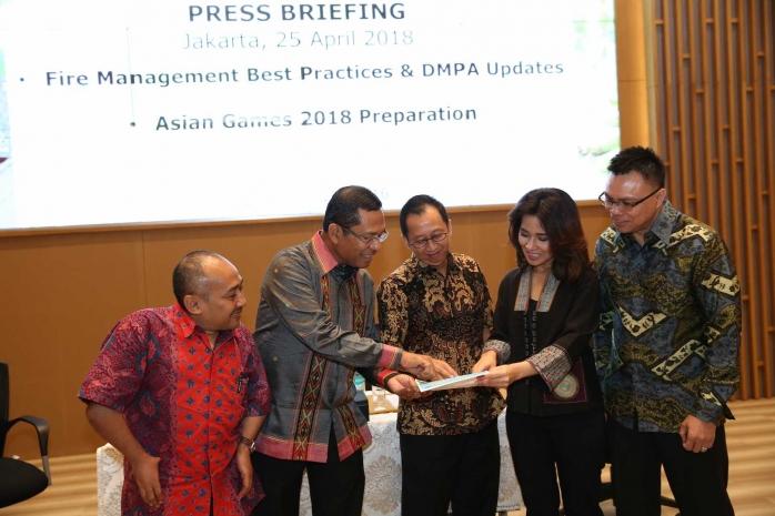 APP Sinar Mas Komitmen Cegah Karhutla Selama Periode Asian Games 2018