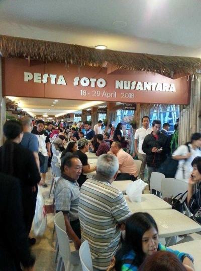 Pondok Indah Mal Juga Menggelar Pesta Soto Nusantara