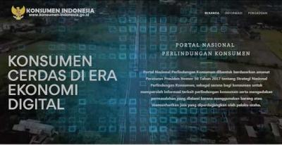 Bagini Cara Kirim Aduan Nontunai via Portal Nasional Konsumen Indonesia
