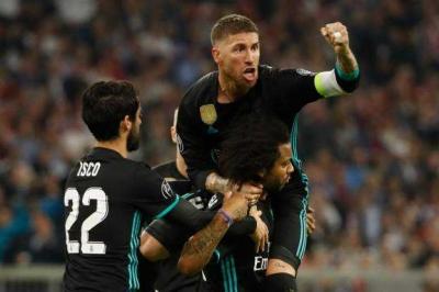 Real Madrid Unggul di Allianz Arena
