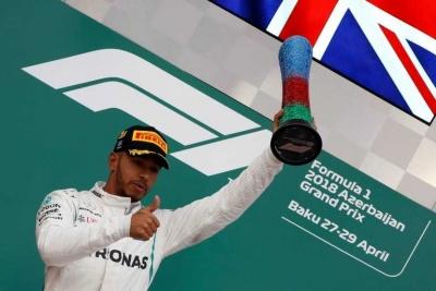 Drama Menegangkan Menangkan Hamilton di Baku