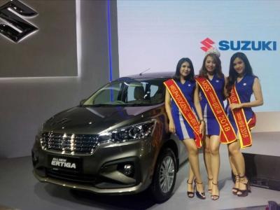 Dominasi Suzuki Aria dalam Miss Motorshow 2018