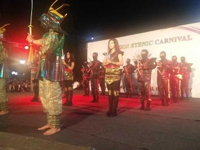 Alun-alun Ikon Baru Cilegon dan Karnaval Etnik Malam yang Spektakular