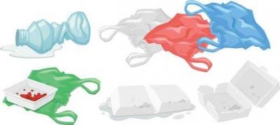 Plastik, antara Pengurangan, Daur Ulang, Campuran Aspal, dan Insenerasi