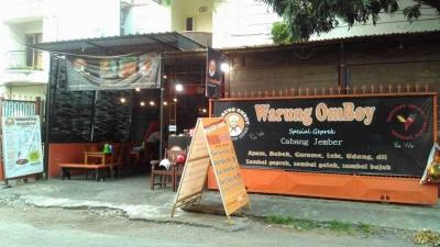 Warung Omboy, Sensasi Menikmati Pedas Sesuai Selera