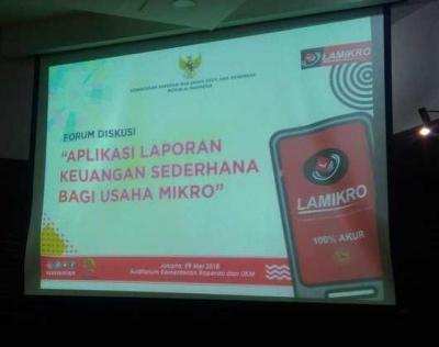 Upaya Pemerintah Dukung UKM Naik Kelas dengan Aplikasi Lamikro
