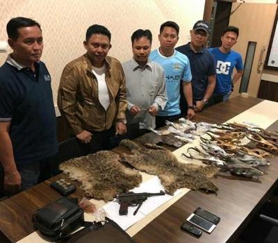 Perdagangan Gelap Tubuh Satwa Dilindungi Diungkap Dit Reskrimsus Polda Kalsel