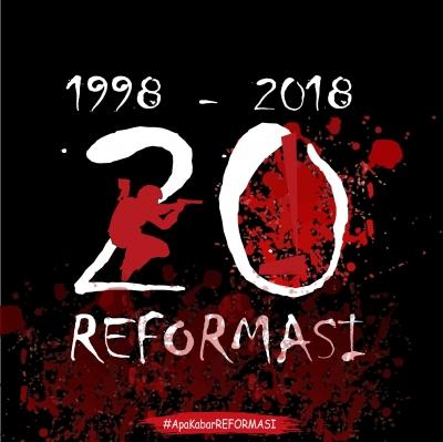20 Tahun Pasca Reformasi