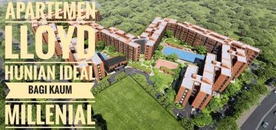 Apartemen Lloyd, Hunian Ideal bagi Kaum Millenial