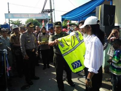 Desa Terlangu Brebes Jadi Kampung Lalu Lintas di Kabupaten Brebes