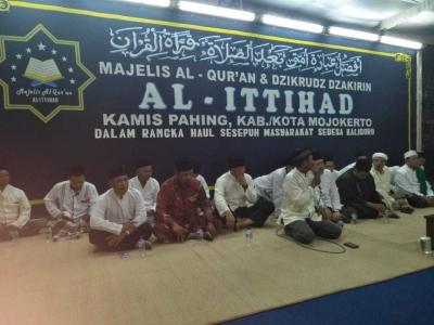 Danramil 13/Kutorejo Hadiri Majelis Sema'an Al-Qur'an