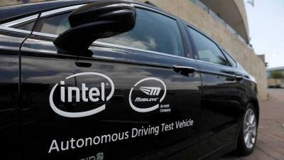 Intel Ujicoba Mobil Tanpa Sopir di Jerusalem