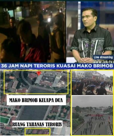 Hukum Mati Teroris Pembunuh Lima Polisi Mako Brimob, Jangan Dibebaskan!