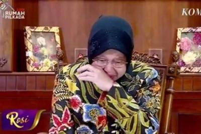 Berita Populer: Risma Bersujud di Kaki Takmir Masjid hingga Twit SBY yang Viral