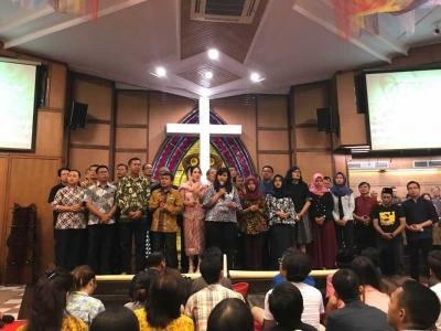 Doa Lintas Iman di GKI Diponegoro, Teror Bom yang Justru Semakin Membangkitkan Semangat Solidaritas