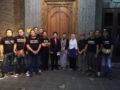Pameran Retrospeksi Galang Kangin di Bentara Budaya