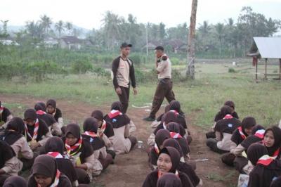 Istimewa, 156 Pramuka MAN 4 Banyuwangi Ikuti Perkemahan di Darussalam Puncak Islamic Camping Ground